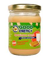 Арахисовая паста с белым шоколадом 250 мл / Энергетический пищевой продукт огромной ценности