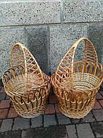 Плетеная корзина для пасхи из лозы