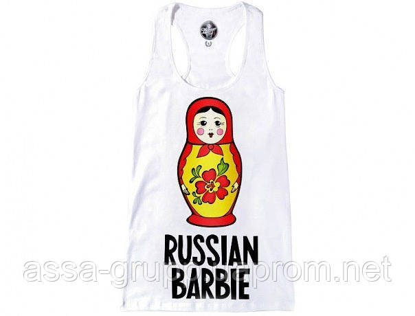 Майка Russian Barbie