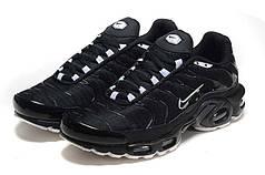 Мужские кроссовки Nike Air Max Plus Tn Black топ реплика