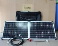 Солнечная панель портативная  2F 120W 18V  670*540*35*35 FOLD, складная солнечная панель модуль Solar board