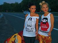 Женская футболка Матрешка