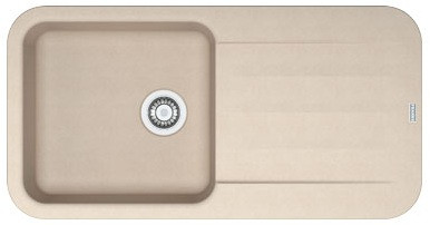 """FRANKE PEBEL PBG 611-97, обор., фраграніт, онікс (в. 3½"""" і сифон у комплекті)"""
