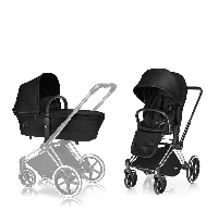 Cybex 2017 - Коляска Priam 2 в 1, цвет Stardust black