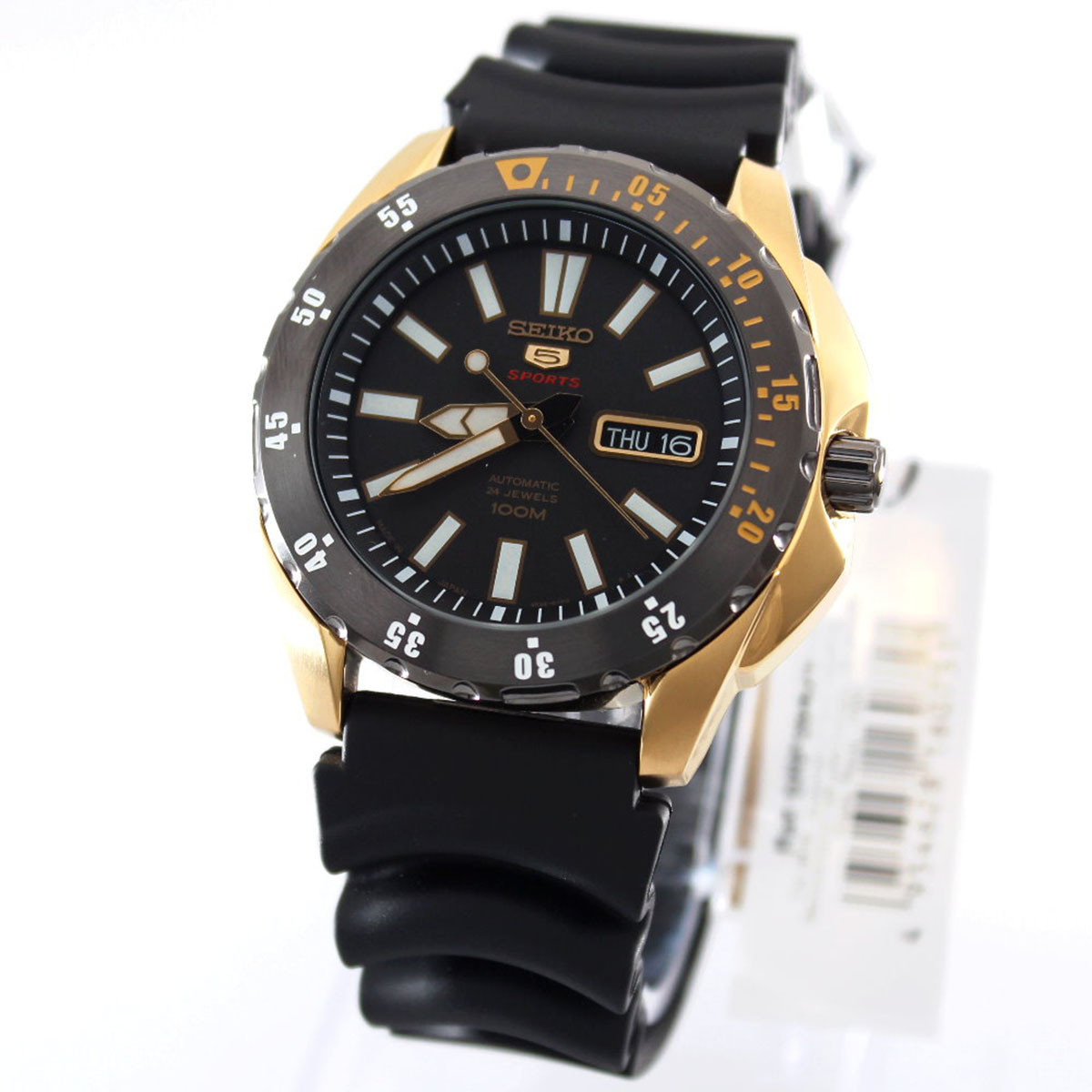 Часы Seiko 5 Sports SRP364J1 Automatic 4R36