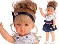 Кукла BELLA в синем 45 см Antonio Juan 2809