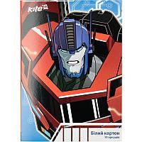 Картон белый (двусторонний) KITE 2017 Transformers 254