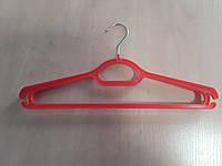 Плечики  ОПТОМ для верхнього одягу   №3 красная