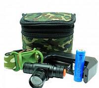 Фонарь налобный аккумуляторный POLICE BL-6660 XPE 99000W 3реж