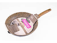 """Сковорода с антипригарным каменным покрытием 28х5.5см Fissman """"Imperial Gold"""" (AL-4361.28)"""