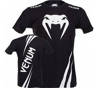 Оригинальная Футболка Venum Challenger T-shirt Black Ice