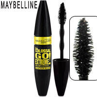 Maybelline - Тушь для ресниц the Colossal Volum Express Go Extreme! Leather Black (объемная)