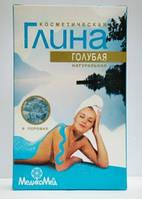 Глина косметическая голубая 100г, Медикомед, Россия