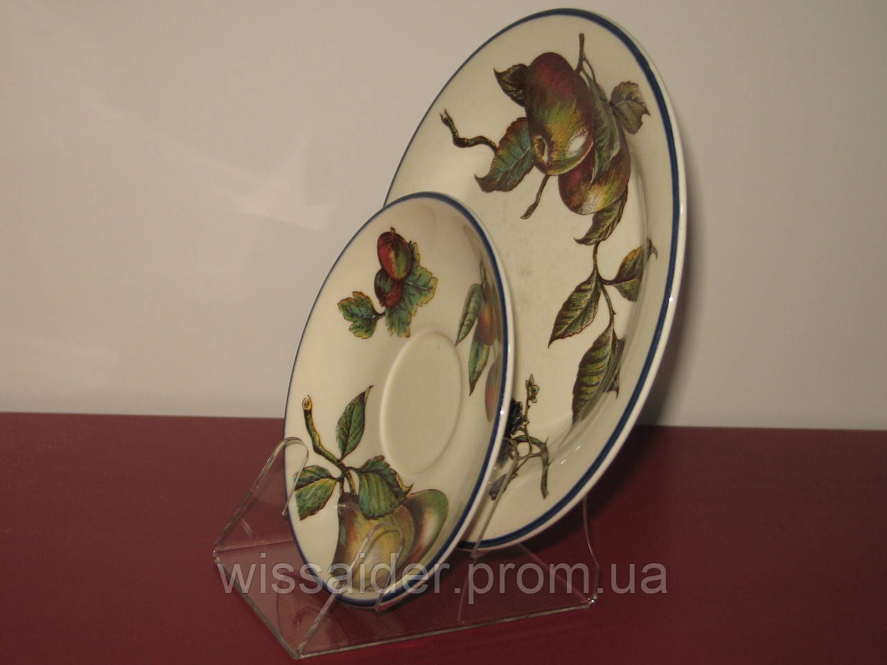 Подставка для 2х тарелок (акрил 3мм)