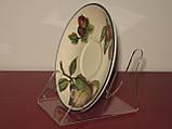 Подставка для 2х тарелок (акрил 3мм), фото 3