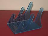 Подставка для 2х тарелок (акрил 3мм), фото 5