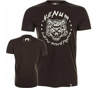 Оригинальная Футболка Venum Natural Fighter T-Shirt Black