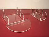 """Подставка для 3х тарелок и чашки """"Двойная"""" (акрил 3мм), фото 2"""