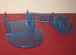"""Подставка для 3х тарелок и чашки """"Двойная"""" (акрил 3мм), фото 3"""