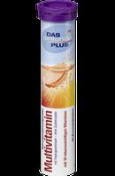 Витамины DAS gesunde PLUS Multivitamin Brausetabletten, 20 St