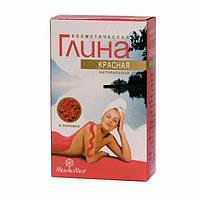 Глина косметическая красная 100г, Медикомед, Россия