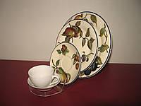 Подставка для 3х тарелок и чашки (акрил 3мм)