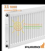 Радиатор стальной Purmo 11 тип 900х2000 боковое подключение