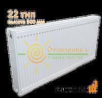 Радиатор стальной Purmo 22 тип 500х900 боковое подключение