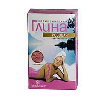 Глина косметическая розовая 100г, Медикомед, Россия