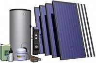 Гелиосистема  ГВС и поддержка  отопления для дома площадью  до 120 кв. м. Пакетное предложение.