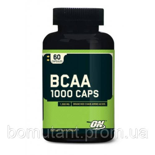 Оptimum nutrition bcaa 1000 60 капсул