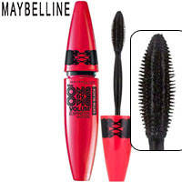 Maybelline - Тушь для ресниц the One by One Volum Express Satin Black (объемная, ультра черная)