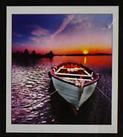 Набор для творчества со стразами 5D Вечер на речке Артикул: 198530 Размер: 50*55 см