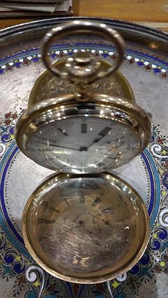 Золотые карманные часы Мозер  19 век, фото 2