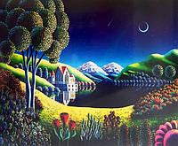 Набор для творчества со стразами 5D Экзотический пейзаж Артикул: 198574 Размер: 65*50