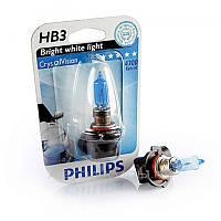 Автолампа Philips HB3 Cristal Vision 12V 65W P20d (Xenon Effect) 9005CVB1
