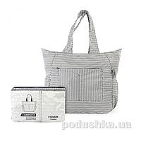 Сумка раскладная Tucano Compatto Shopper Mendini White BPCOSH-MENDINI-W