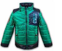 Куртка-жилет (рукава отстегиваются), рост 128 см. Разные расцветки., фото 1