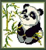 Набор для творчества со стразами Красавица-панда 17*17 Артикул: 198414 Размер: 17*17 см