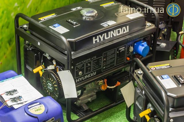 генератор Hyundai HHY 7000FE ATS фото 1