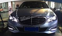 DRL штатные дневные ходовые огни LED- DRL для Mercedes E W212 2013-2016