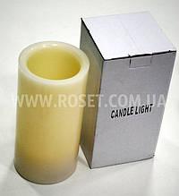 Светодиодная свеча - Candle light (высота 15 см)