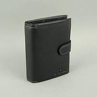 Кошелек мужской кожаный черный документы B. Cavalli, фото 1
