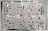 Силиконовый коврик для выпечки (со значениями и размерами) - Welland 64х38 см