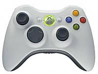 Геймпад для Xbox 360 оригинал, беспроводной  Белый