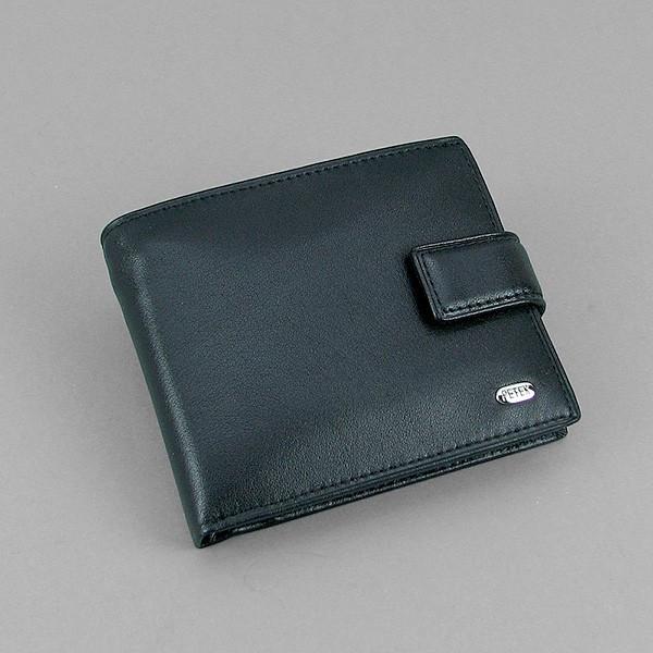7cc9975a221c Кошелек мужской кожаный черный съёмное отделение Petek - Интернет-магазин