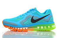 Мужские кроссовки Nike Air Max 2014 голубые