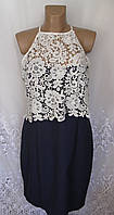Новое стильное платье с кружевами PAPER DOLLS хлопок нейлон XL 52 - 54 C76N