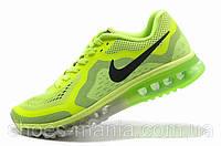Мужские кроссовки Nike Air Max 2014 салатовые, фото 1