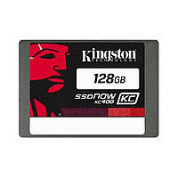 "Накопитель SSD 128GB Kingston SSDNow KC400 2.5"" SATAIII MLC (SKC400S37/128G)"